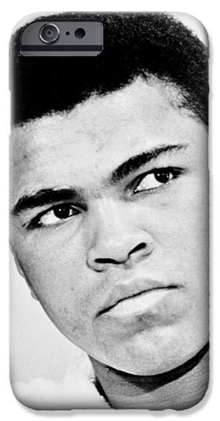 Champ Boxer iPhone Cases - The Greatest iPhone Case by Benjamin Yeager