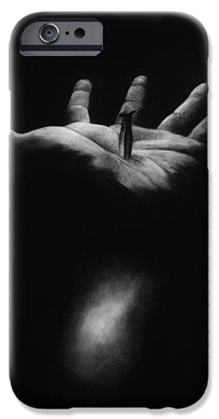 Religious Drawings iPhone Cases - The Greatest Gift iPhone Case by Rebekah Kitzmiller