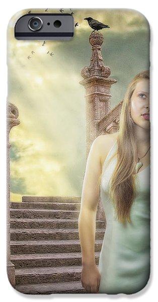 The Greek Goddess iPhone Case by Erik Brede