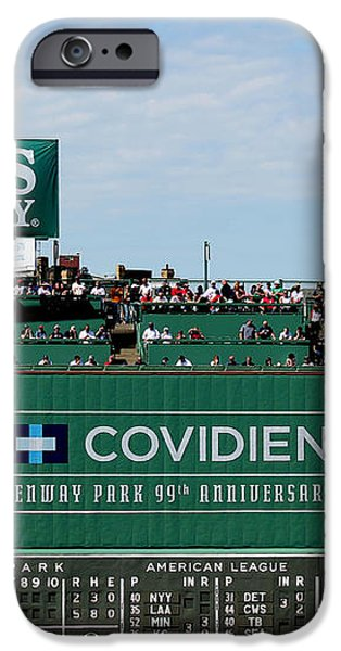 The green monster 99 iPhone Case by Tom Prendergast