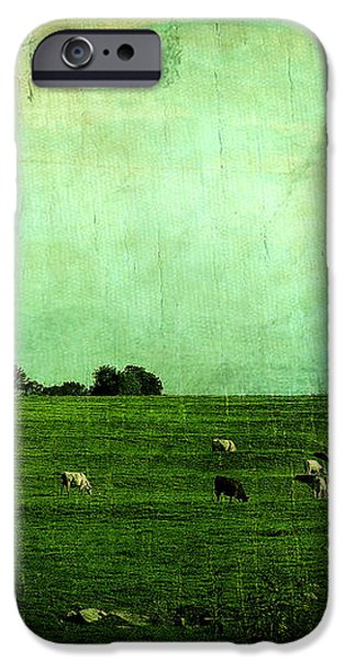 The Green Yonder iPhone Case by Trish Mistric