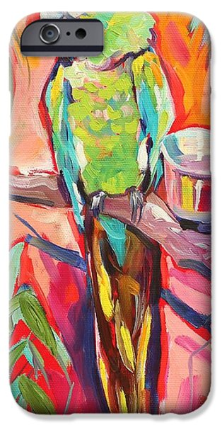 Zoo Animal iPhone Cases - The Greeter iPhone Case by Eve  Wheeler