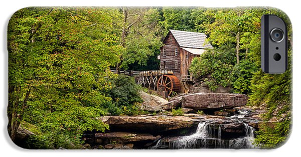 Grist Mill iPhone Cases - The Grist Mill iPhone Case by Steve Harrington