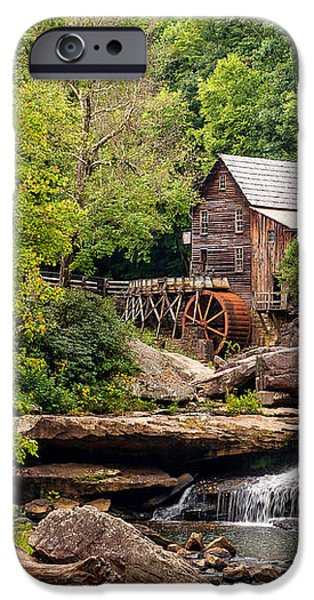 The Grist Mill iPhone Case by Steve Harrington