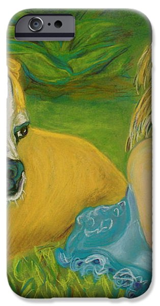 The Guardian iPhone Case by D Renee Wilson
