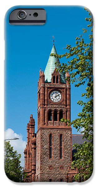 The Guildhall iPhone Case by Luis Alvarenga