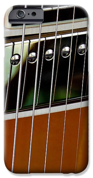 The Guitar iPhone Case by David Patterson