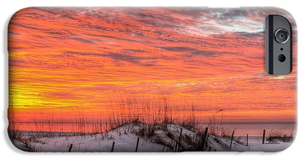 Florida Panhandle iPhone Cases - The Gulf Shores of Alabama iPhone Case by JC Findley