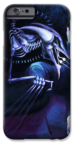 The Hallucinator iPhone Case by Shelley  Irish