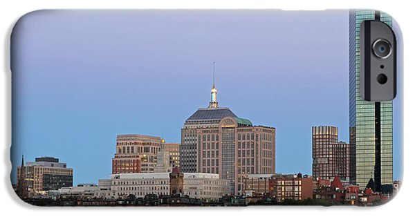 Charles River iPhone Cases - The Hancock and Boston iPhone Case by Juergen Roth