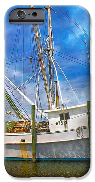The Harbor II iPhone Case by Betsy A  Cutler