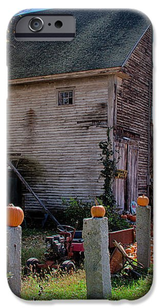 The harvest is in iPhone Case by Jeff Folger