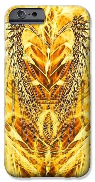 Painterartistfin iPhone Cases - The Harvest Is Plentiful The Laborers Are Few iPhone Case by PainterArtist FIN