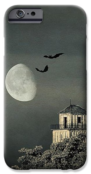 The haunted house iPhone Case by Heike Hultsch
