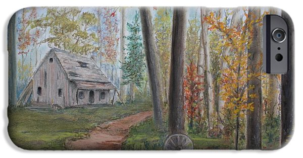 Pathway Pastels iPhone Cases - The Haunted iPhone Case by Marlene Kinser Bell
