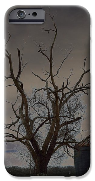 The Haunting Tree iPhone Case by Alys Caviness-Gober