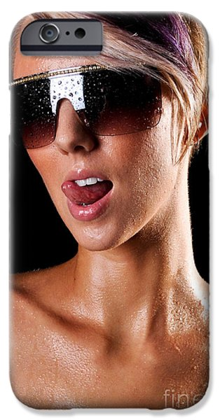 Sweat iPhone Cases - The Heat Is On iPhone Case by Jt PhotoDesign