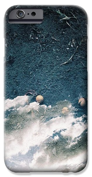 Modernart iPhone Cases - The Heaven and the Earth iPhone Case by Vera Gailis