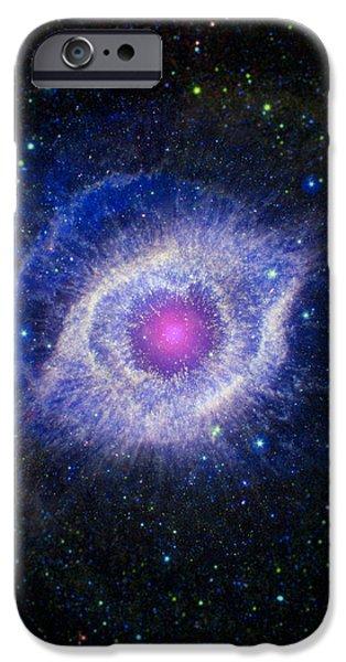 The Helix Nebula iPhone Case by Adam Romanowicz