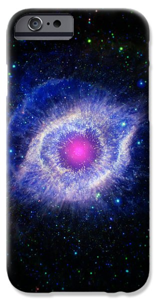 The Helix Nebula  iPhone Case by The  Vault - Jennifer Rondinelli Reilly