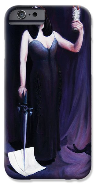 The Heretic iPhone Case by Shelley  Irish