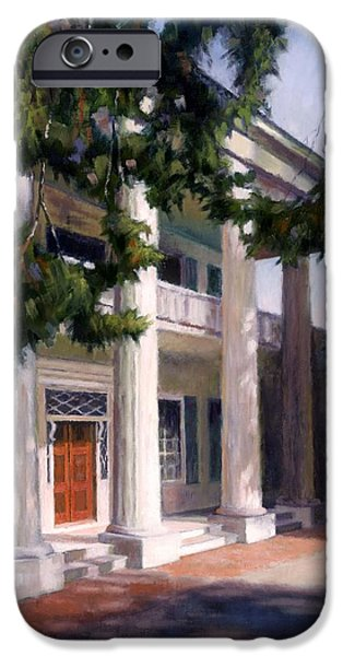 Nashville Tennessee Paintings iPhone Cases - The Hermitage iPhone Case by Janet King