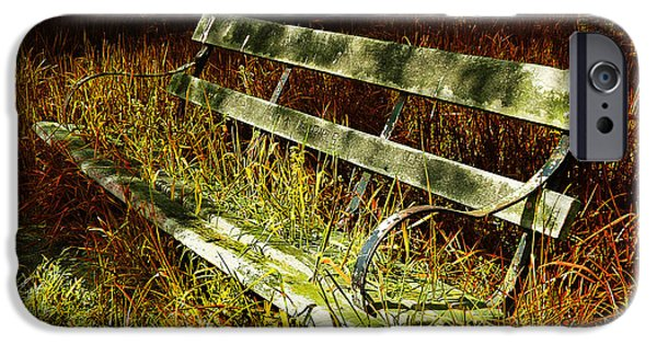 Bench iPhone Cases - The Hidden Bench iPhone Case by Mark Rogan