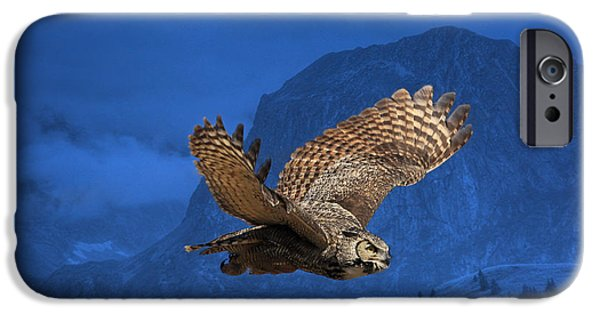 Animals Photographs iPhone Cases - The High Country iPhone Case by Donna Kennedy