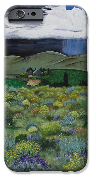 Recently Sold -  - Storm iPhone Cases - The High Desert Storm iPhone Case by Jennifer Lake