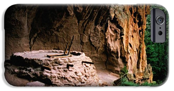 Valles Grande National Preserve iPhone Cases - Alcove House iPhone Case by Jon Burch Photography
