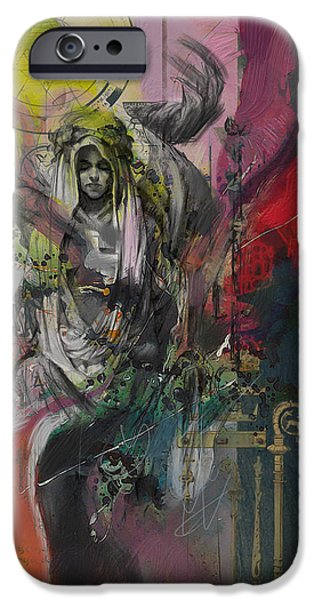 Esoteric iPhone Cases - The High Priestess iPhone Case by Corporate Art Task Force