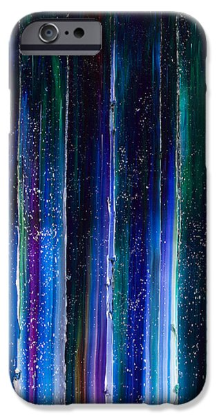 Intergalactic Space Paintings iPhone Cases - The Highest Journey iPhone Case by Chad Mars