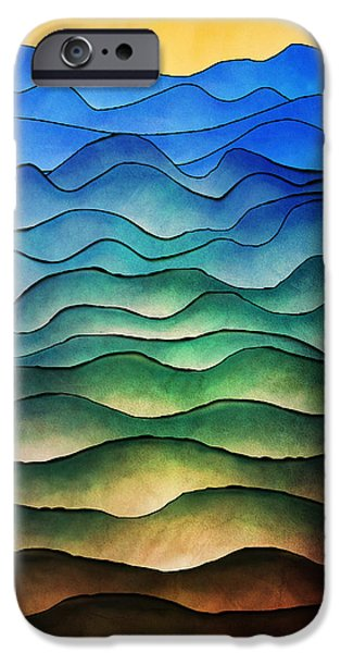 Hattiesburg iPhone Cases - The Hills are Alive iPhone Case by Brenda Bryant