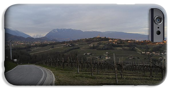 Prosecco iPhone Cases - The hills of the wine iPhone Case by Salvatore Gabrielli