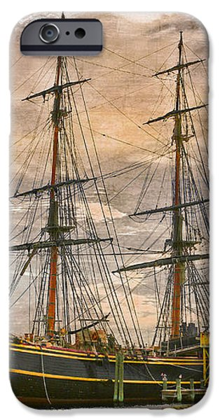 The HMS Bounty iPhone Case by Debra and Dave Vanderlaan