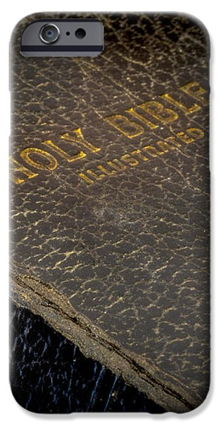 The Holy Bible iPhone Case by David and Carol Kelly