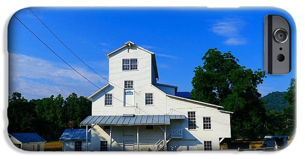 Feed Mill Photographs iPhone Cases - The Homan Mill iPhone Case by Teena Bowers