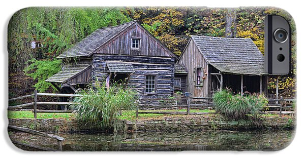 Grist Mill iPhone Cases - The Homestead Country Living iPhone Case by Paul Ward