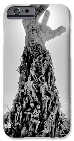 Genocides iPhone Cases - The Horror iPhone Case by Benjamin Yeager