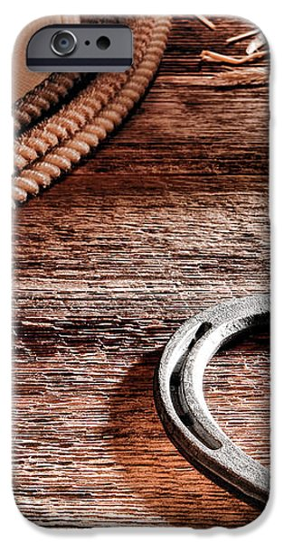 The Horseshoe iPhone Case by Olivier Le Queinec