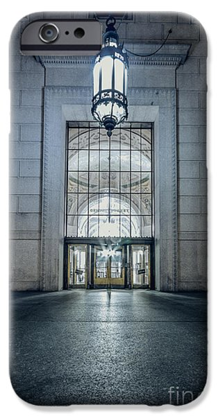 Entrance Door Photographs iPhone Cases - The House Of Next Tuesday iPhone Case by Evelina Kremsdorf