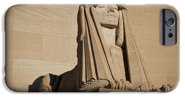 D.c. iPhone Cases - The House of the Temple Sphinx #2 iPhone Case by Stuart Litoff