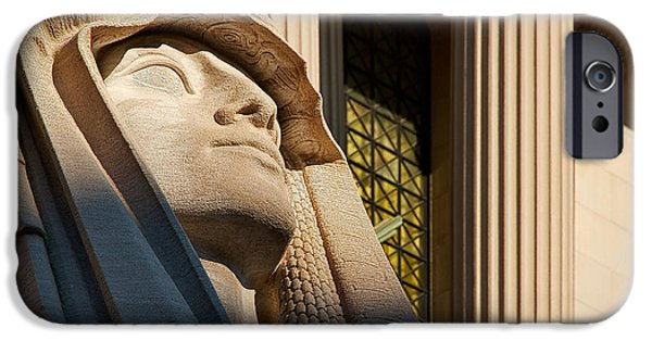 D.c. iPhone Cases - The House of the Temple Sphinx iPhone Case by Stuart Litoff
