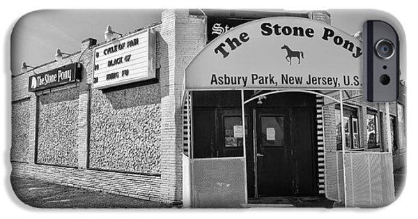 E Street Band iPhone Cases - The House that Bruce Built II - The Stone Pony iPhone Case by Lee Dos Santos
