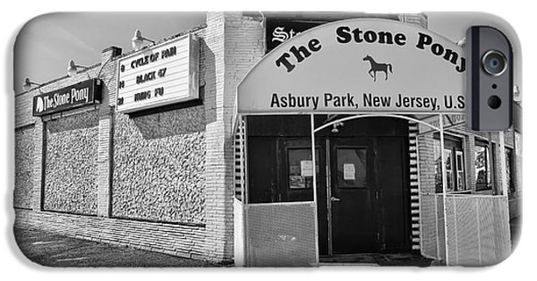 E Street Band iPhone Cases - The House that Bruce Built - The Stone Pony iPhone Case by Lee Dos Santos