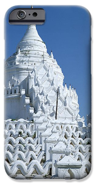 Buddhism Photographs iPhone Cases - The Hsinbyume Paya, Built In 1816 Photo iPhone Case by Burmese School