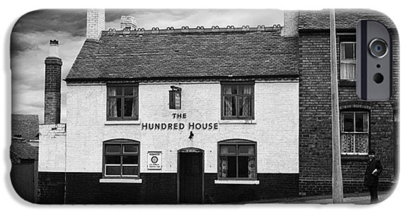 The White House Photographs iPhone Cases - The Hundred House Pub - 1960s iPhone Case by William R Hart