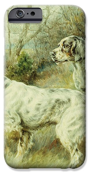 The Hunt iPhone Case by Edmund Henry Osthaus