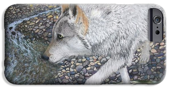 Creek Pastels iPhone Cases - The Hunter iPhone Case by Laurie Cartwright
