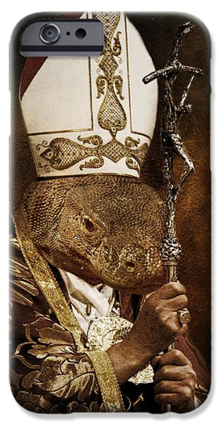 Pope iPhone Cases - The Identity iPhone Case by Marian Voicu